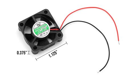 Hobbywing Esc Fan 12v By Rclung generic dc brushless fan dc 12v 0 05a 30mmx30mmx10mm