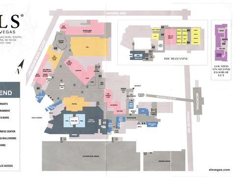 Mirage Las Vegas Floor Plan by Sls Las Vegas Hotel In Las Vegas