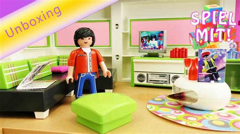 Wohnzimmer Playmobil by Playmobil Wohnzimmer City 5584 Unboxing