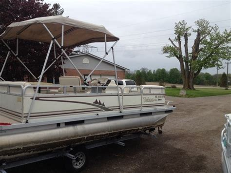 tahoe boats for sale in ontario tahoe 18 tahoe pontoon 2001 used boat for sale in