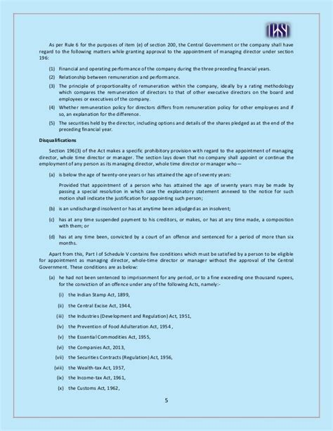appointment letter of kmp companies act 2013 appointment of directors and kmp 2013 act https www