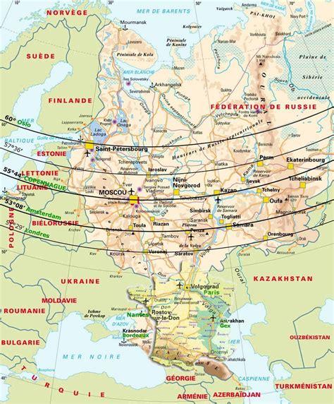 france latitude g 233 ographie de la russie et des espaces postsovi 233 tiques