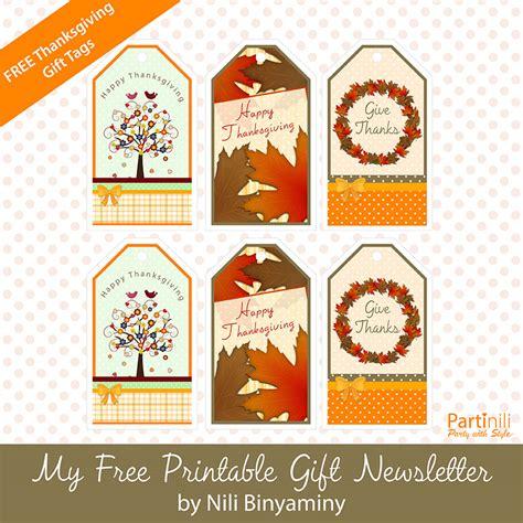 printable tags for thanksgiving printable gift tags
