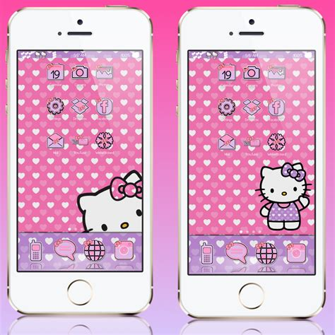 themes hello kitty cydia pretty iphone themes i heart kitty iphone theme