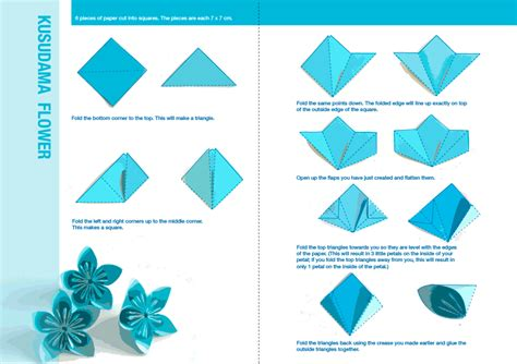 Origami Flower Step By Step - how to do an origami flower point