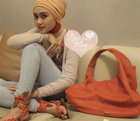 tutorial hijab indah nada puspita hijab style indah nada puspita