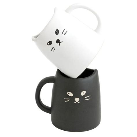 Cat Mug 1 cat mug set of 2 cats kawaii and mugs set