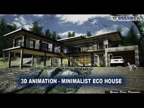 3d house animation youtube 3d animation minimalist eco house youtube