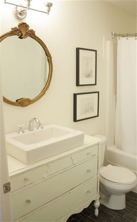 Painting A Bathtub White by White Dove Paint Mirror Vanity Decorating