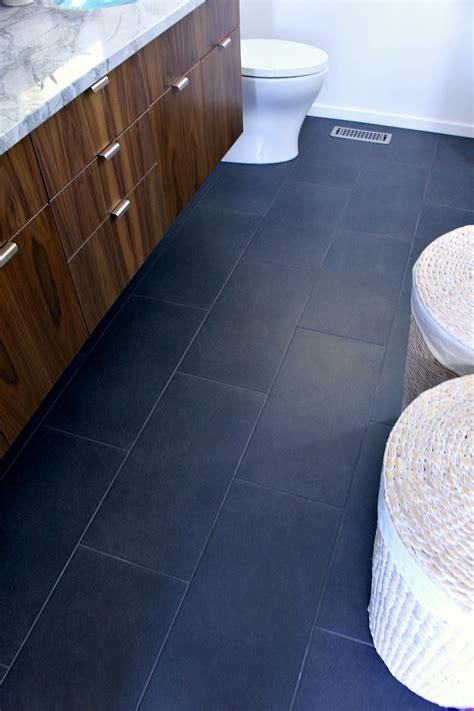 Modern Bathroom Floor Tile by A Mid Century Modern Inspired Bathroom Renovation Before