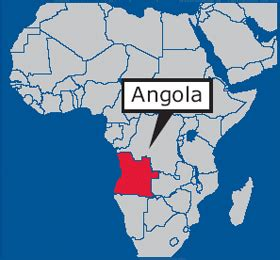 africa map angola angola angolan youth centers provide educational