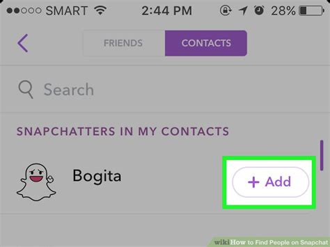 How To Find Peoples Snapchat Names How To Find On Snapchat With Pictures Wikihow