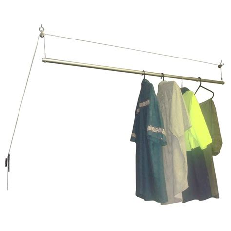 Ceiling Hanging Clothes Drying Rack by Ceiling Mounted Drying Rack Clotheslines