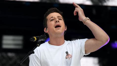 charlie puth live charlie puth wore a homemade liam payne t shirt at the