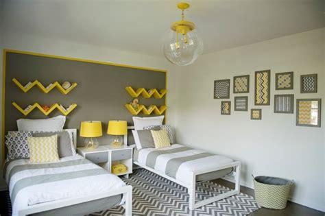 chambre ado et gris deco chambre ado gris et jaune visuel 8