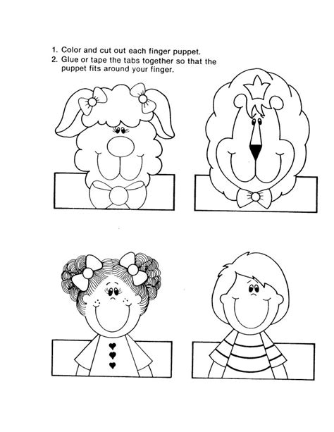 finger puppet template by the way about free finger puppet templates below we
