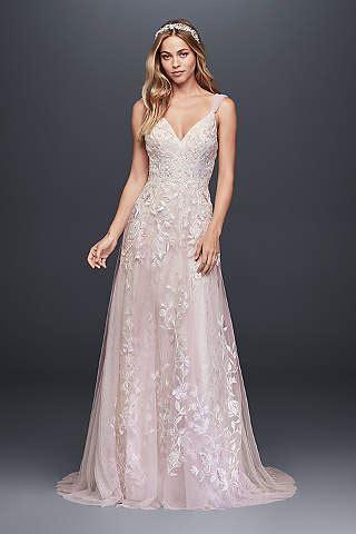 hello any suggestions for a very pale sophisticated pink vestidos de novia en color david 180 s bridal mepoca