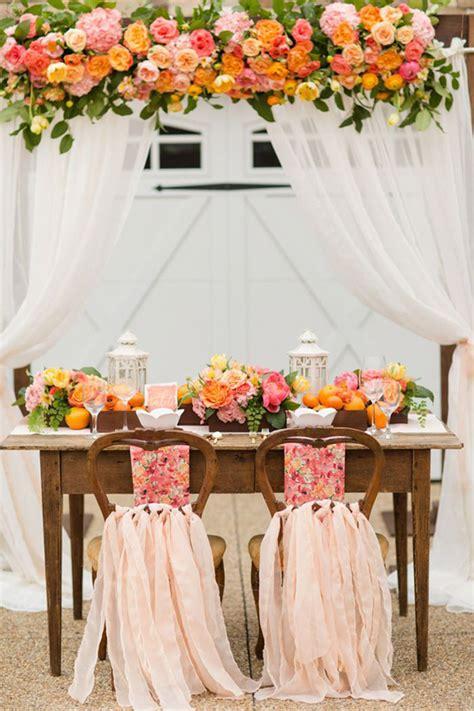 tavolo sposi come decorare il tavolo degli sposi