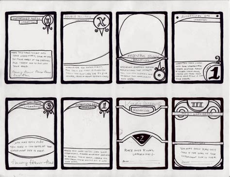 dungeons and dragons blank item card template the part 4 graphic design dungeon