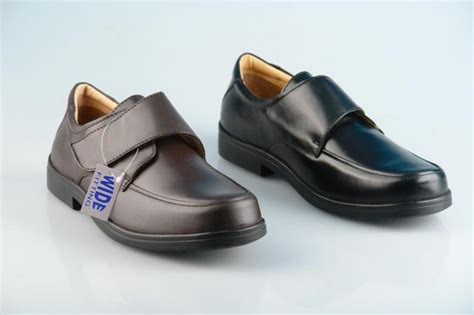 Slippers 14 Additional mens new black brown wide leather eee lightweight velcro shoes uk 6 14 ebay