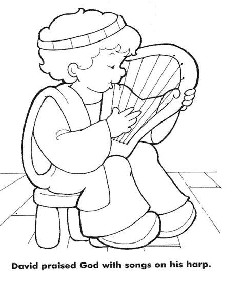 coloring book length bible crafts david harp