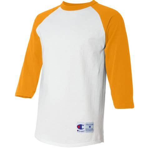 t shirt baseball 10 white b c chion t137 raglan baseball t shirt white gold