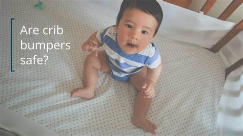 are baby crib bumpers safe crib bumper safety why you shouldn t use them