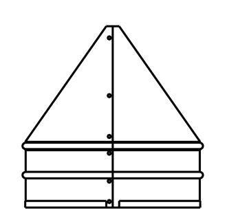 Chimney Liner Puller - duravent 5dfs fp stainless steel 5 quot inner diameter