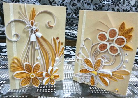 Attractive Handmade Cards - handmade quilled greeting cards for special occasions