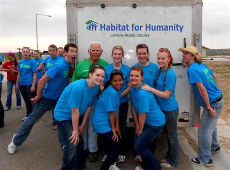 Habitat For Humanity Tx Habitat For Humanity Engages Students Msum Advocate