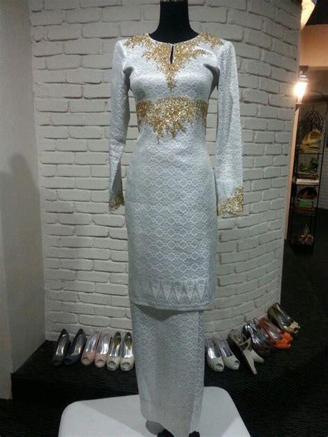 Baju Akad Nikah Songket traditional kurung modern songket tenun weddings dress traditional modern and