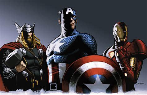 film thor ironman captain america thor captain america iron man jpg at tiki humor