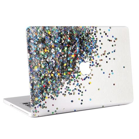 Macbook Pro 13 Skin Aufkleber by Glitter Macbook Skin Aufkleber
