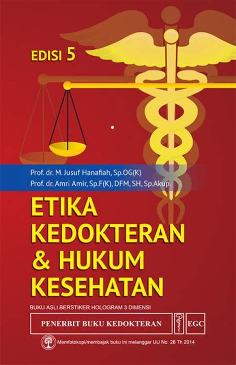 etika kedokteran hukum kesehatan edisi 5 toko buku