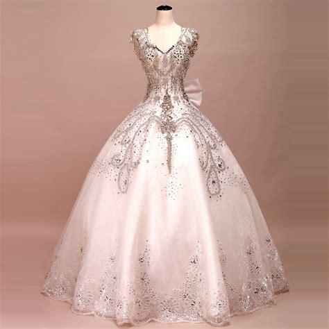 Beautiful sparkling wedding dresses wedding fanatic