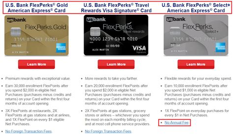 Us Bank Mastercard Gift Card - us bank flexperks travel rewards visa signature american express downgrade