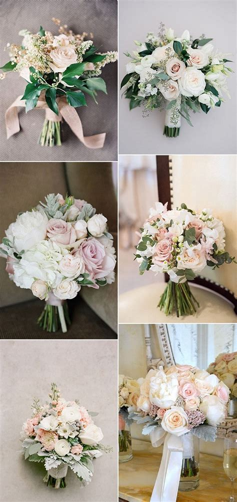 Wedding Bouquet Trends 2018 by Top 15 Blush Pink Wedding Bouquets For 2018