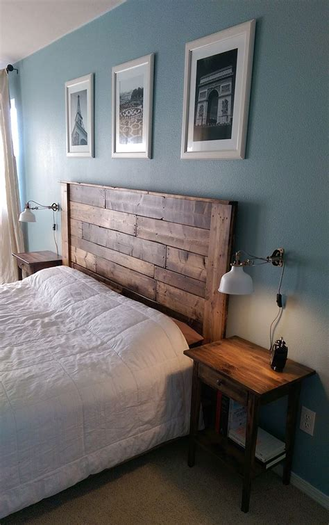 bedroom head boards 1000 ideas about painted wood headboard on pinterest