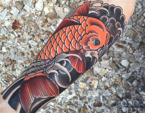 koi fish tattoo representation spiritual