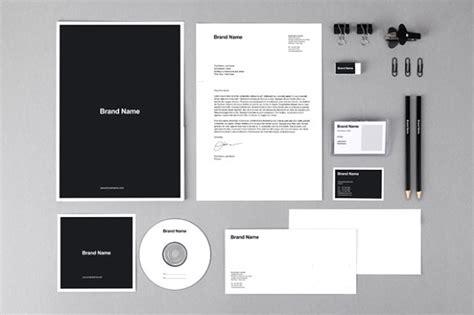 branding identity mockups template product mockups