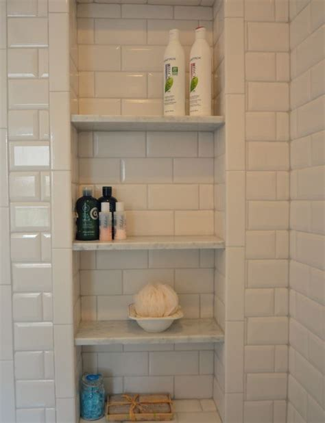 bathroom niche shelves 94 best images about bathroom niches shelving storage