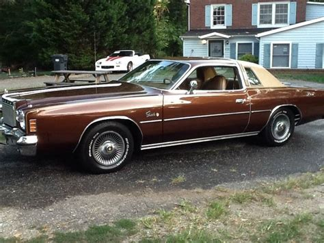 1977 Chrysler Cordoba For Sale by 1977 Chrysler Cordoba Ebay