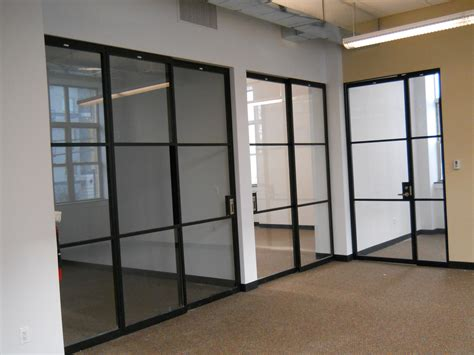 Interior Glass Partitions Creating New And Transparent Partition Doors Interior