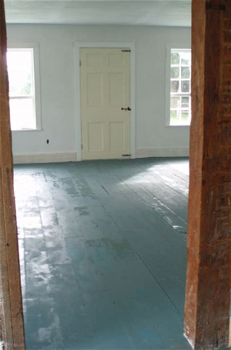 painted wood floors thoughts