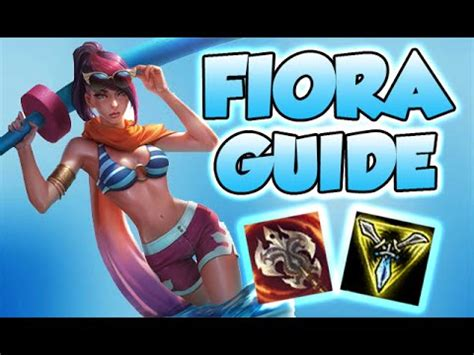 fiora item 6 19 advanced fiora guide masteries runes items