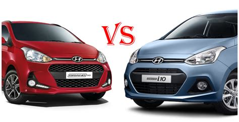 i10 hyundai india 2017 hyundai grand i10 facelift vs hyundai grand i10