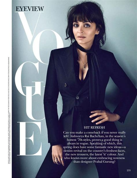 India Today Magazine March 23 2015 Issue Get Your Digital Copy by Aishwarya Bachchan Vogue Magazine India March 2015 Issue
