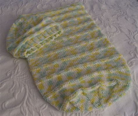 knitted baby bunting bag pattern free knitted patterns baby bunting s home and
