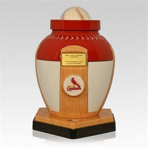 St Baseball st louis cardinals baseball cremation urn