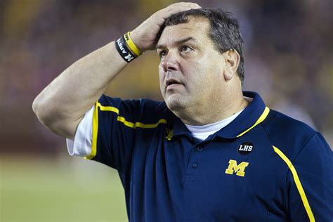 the hoke brady hoke s stubborness getting in the way at michigan
